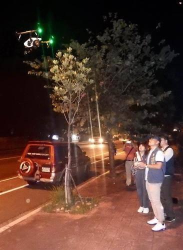 台湾南投派无人机夜间侦测污染源 查处排污工厂