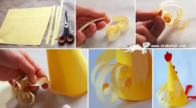 【小天使亲子团】亲子手工丨手工制作母鸡孵蛋