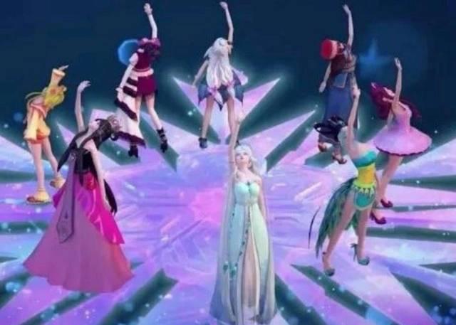 叶罗丽:最受上榜的六位公主,王默没欢迎,冰公主和灵初中谁第一试卷仙子成都图片
