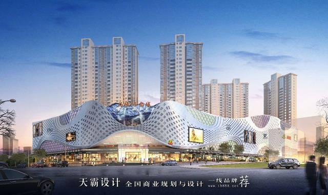 水韵城:以水元素为设计主题打造高颜值购物中心图片