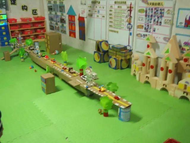 幼儿园建构区也能玩出好创意!图片