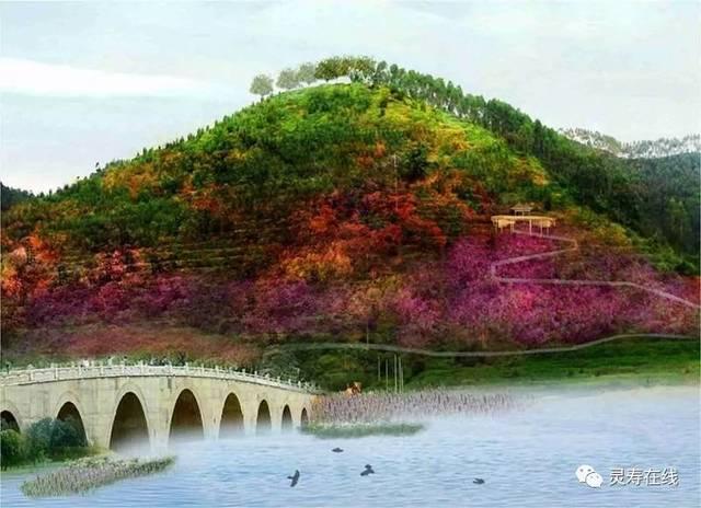 花溪谷旅游康养小镇,将涵盖灵寿县张家庄至花溪谷景区沿线区域3-5平方