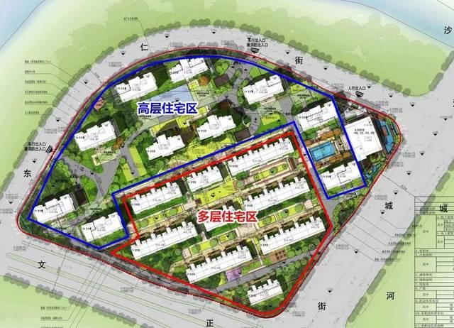 中交臨平新城住宅項目公示!規劃19幢住宅樓!圖片