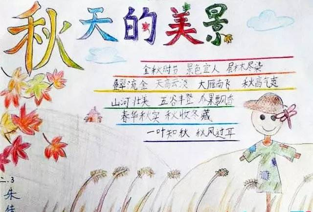 【爱思·新标准教育】秋季手抄报大全,重阳节,秋天节气,秋季健康图片