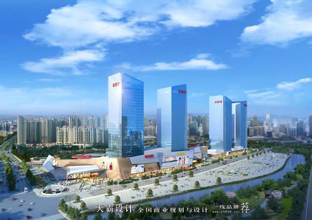 杭州拱墅万达广场:以水元素为设计主题打造灵动飘逸的图片