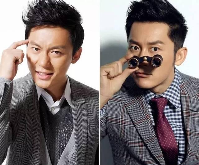 脸大的人眉头间距缩小,脸小的人考虑中分发型.图片