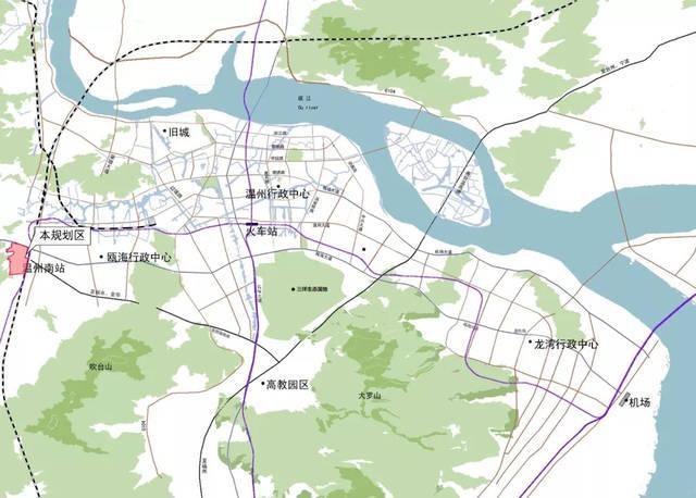 温州地区地图全图