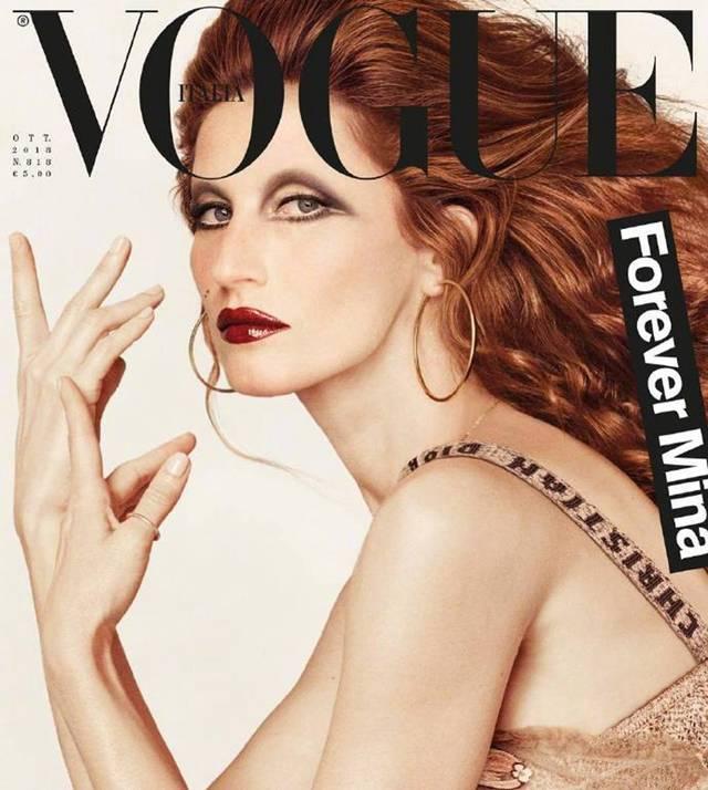 """巴西名模""""吉娘娘""""吉赛尔·邦辰登上《vogue》意大利版 2018年10月号"""