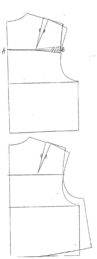 服裝款式圖領子手繪