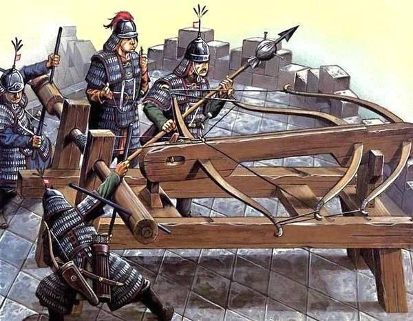 古代兵器之三弓床弩,射程超过1000米