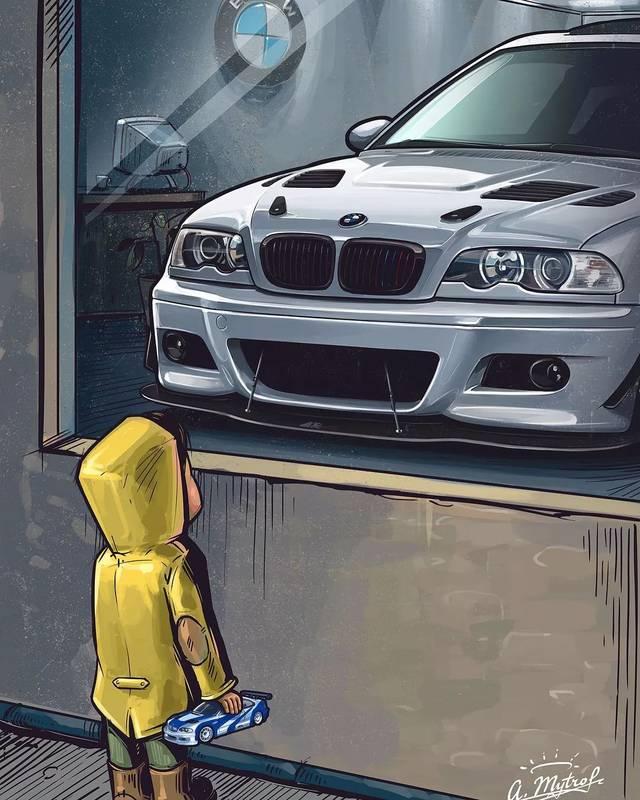 无码私图_橱窗外的小孩,汽车手绘第二期无水印(含第一期高清无码图)
