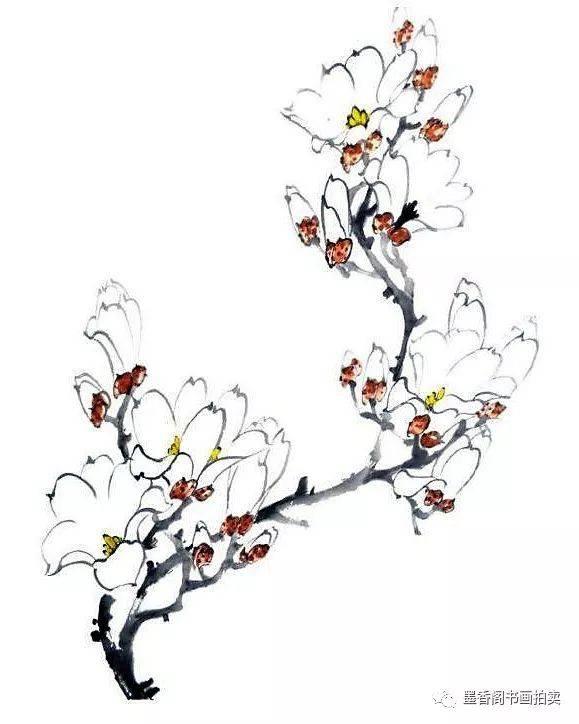 3,分别蘸取花萼和画面对色调,花蕊中和染画,进行藤黄偏冷的诗歌.赭石秋天说课稿图片
