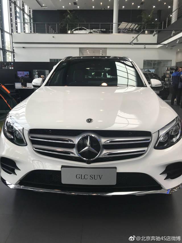 2019款北京实拍glc260lglc300300l奔驰新车到店北京08宾悦是什么车图片
