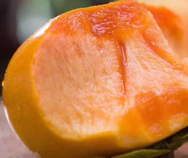 甜性涩爰_甜如蜜,嘎嘣脆,溏心无核不涩口的柿子,竟比苹果还要甜