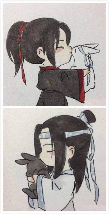 10组魔道祖师情侣头像,太可爱啦!
