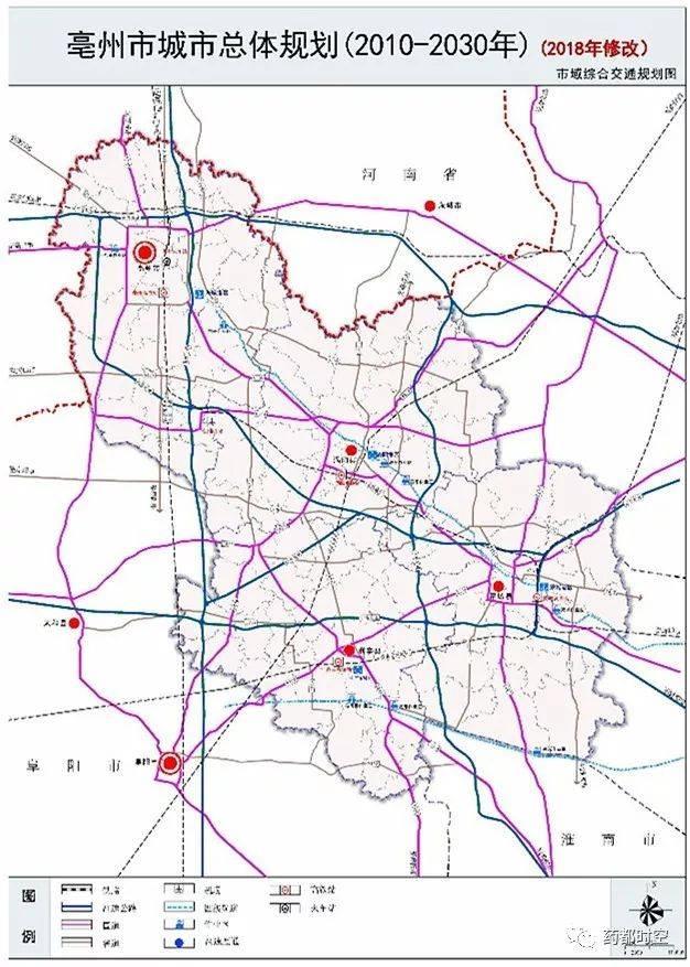 亳州城市总体规划修改啦!未来市区会变成什么样?看这里