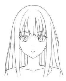 【动漫画法】动漫人物头部绘画技法,一分钟get!图片