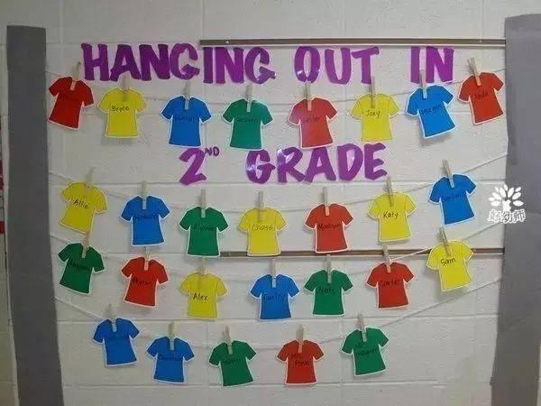 还可以用签到的方式统计幼儿出勤 无规矩不成方圆,幼儿园里也要有班级