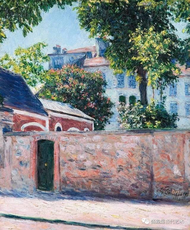 法国著名艺术家_法国著名艺术家古斯塔夫·卡勒波特作品