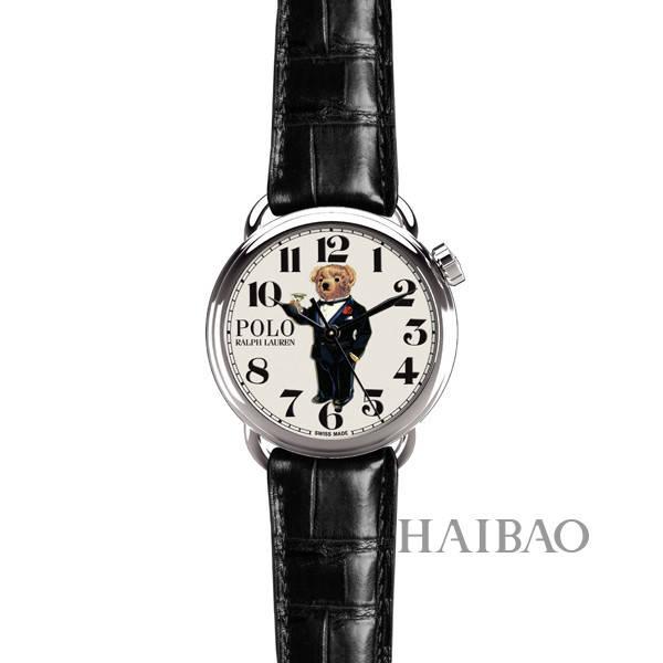 拉夫·劳伦 (ralph lauren) 推出polo bear系列腕表,泰迪熊图案趣味