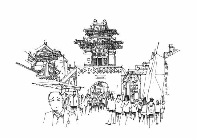 平遥古城二图片