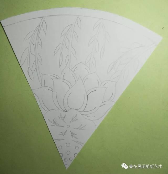 连年大顺(六折团花)——【天天学剪纸】第14期图片