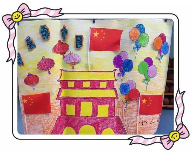 """【园所动态】上杭县第二实验幼儿园举行""""爱祖国,爱家乡""""幼儿组画活动"""
