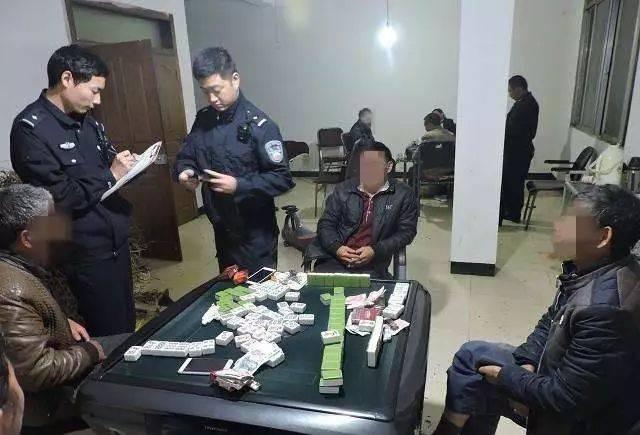 【警方报道】文安警方在洗浴中心当场抓获拘留3名赌徒