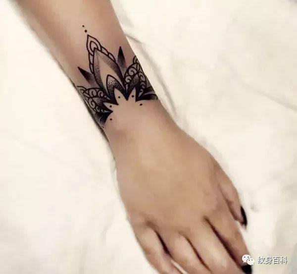 各种环形纹身,满满的文艺范儿纹身图片