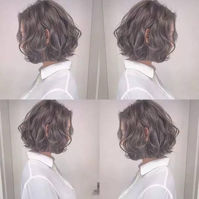 秋冬女生发型中短发依旧是热门款,今年什么样的短发最好看呢?图片