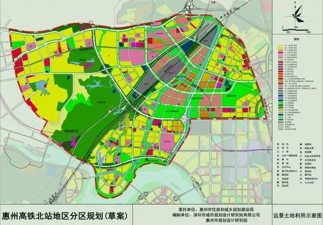 高铁北站新城规划图