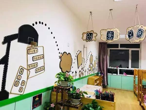 幼儿园环创:小小传承人1根麻绳就能把幼儿园装饰成这样