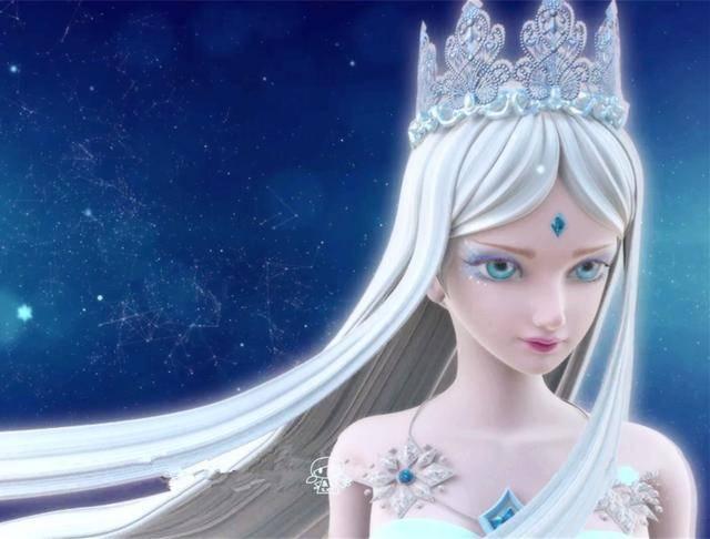 第一位:《精灵梦叶罗丽》冰公主图片