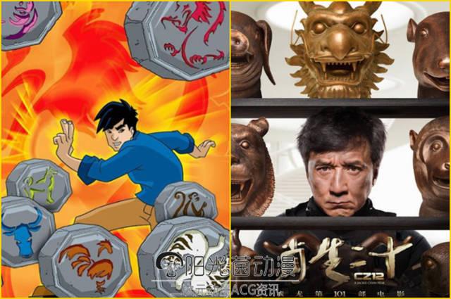 童年经典动画《成龙历险记》竟包罗了成龙所有的电影成就!图片