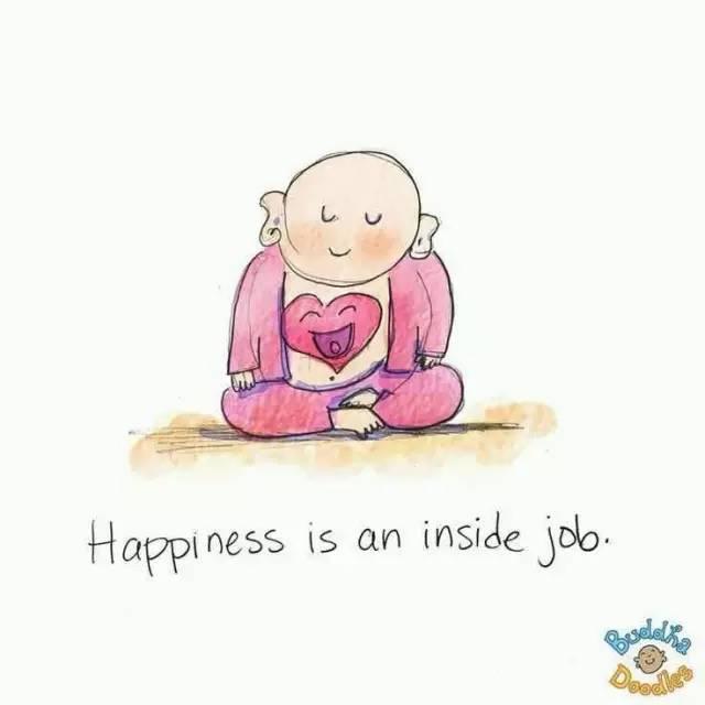 暖心插画《佛陀的涂鸦》:看完整个人都被疗愈了!图片