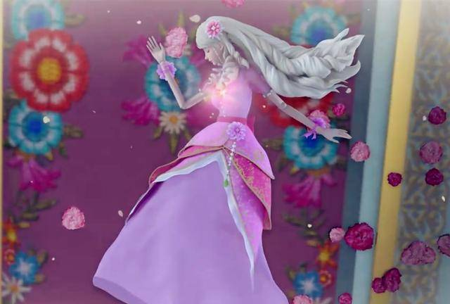 叶罗丽公主们的五个睡美人造型,灵公主失去血色,王默躺在冰雪中图片