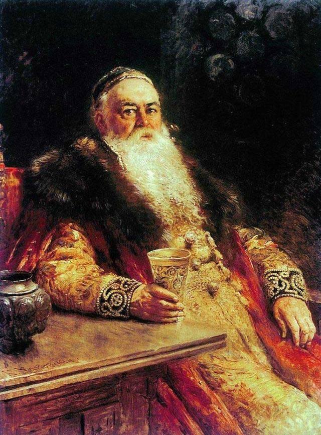 俄罗斯着名艺术家康斯坦丁马格夫斯基油画作品欣赏图片