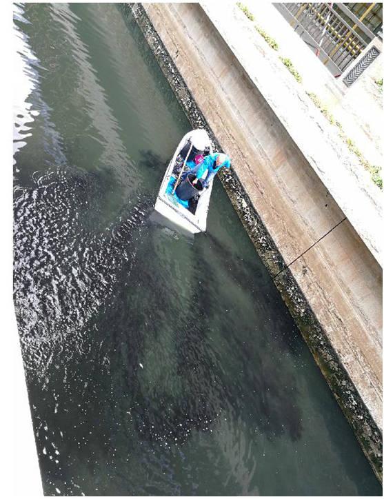广州天河潭村涌水污染治理取得明显成效