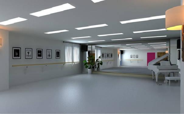 成都舞蹈教室设计装修呢活动幼儿园设计区域图片