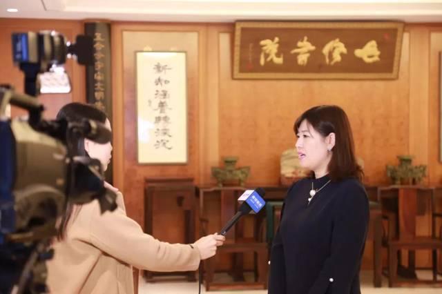 新绎健康总经理张利娜在首届雄安国际健康论坛召开前夕接受采访