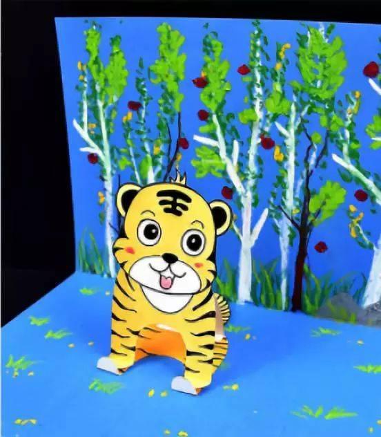 黄色片和动物干_【创意手工】一看就做会的小动物手工,家有孩子必备啊