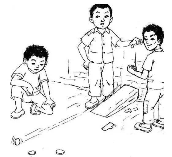 【游戏天地】10个幼儿园民间游戏图片