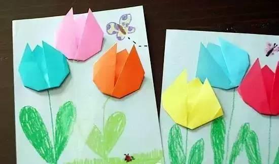 准备材料:卡纸,笔,剪刀,胶水等 制作步骤:借助瓶盖,碗等画出圆形.