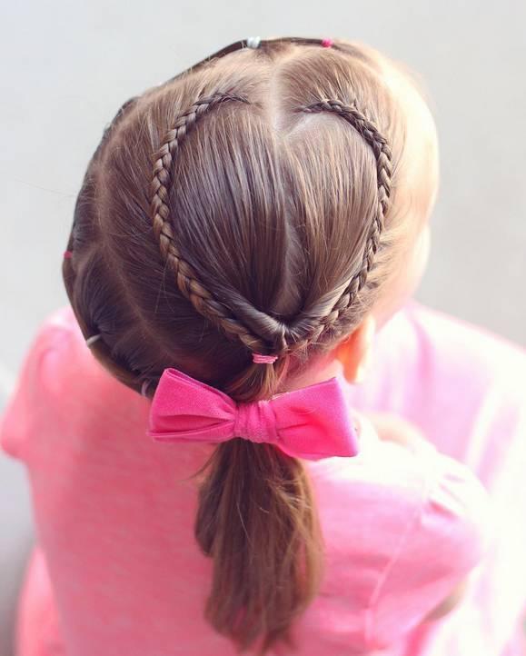 有女儿就照着这些发型打扮!