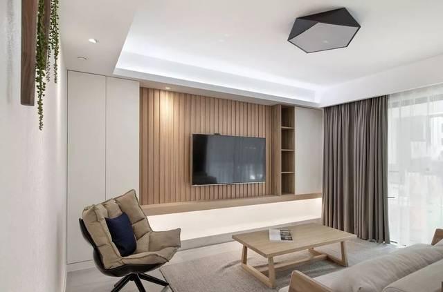 2019,客厅电视墙流行这样设计!