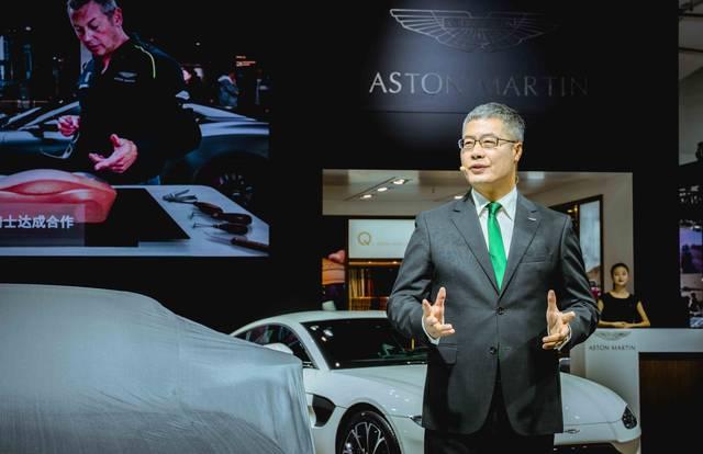 广州车展阿斯顿·马丁DB70周年纪念版全球首秀首款SUV明年底发布_