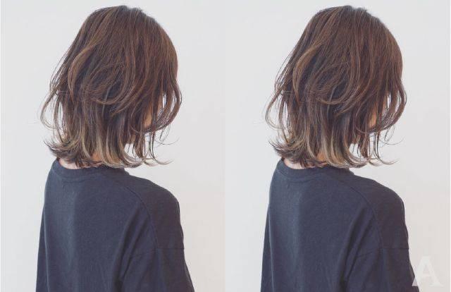 既凌乱又有层次的齐肩发型图片