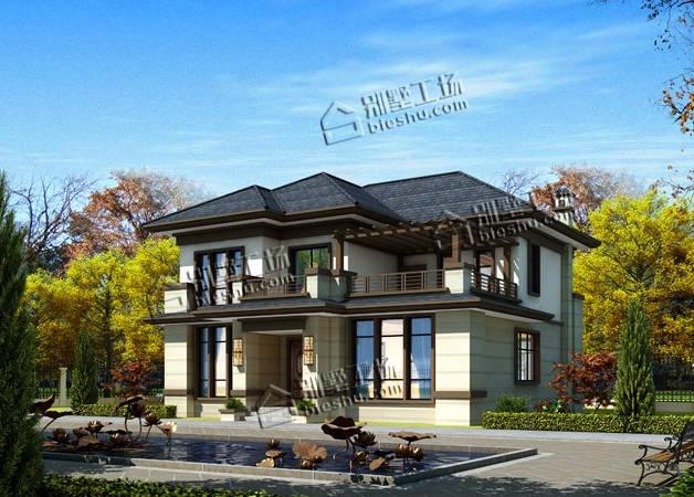 农村中式房屋设计图大全,还是中式有韵味