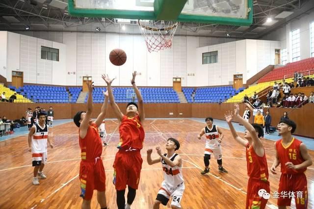 东阳市高中生篮球赛拼搏,赛场开赛展初中活力读点语文图片