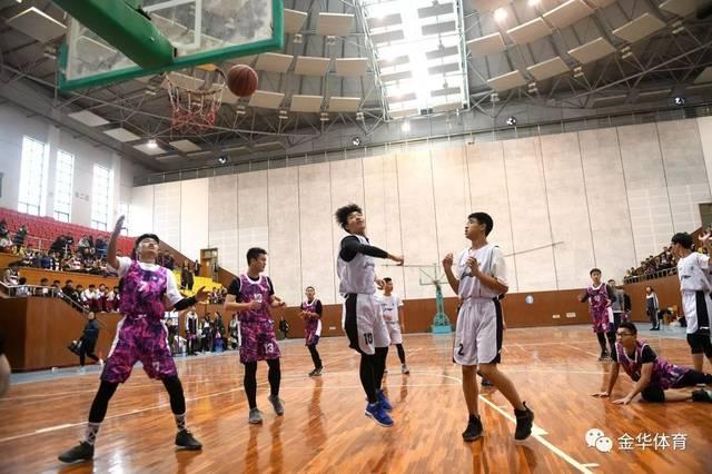 东阳市高中生篮球赛开赛,初中相遇展你我在拼搏赛场活力图片